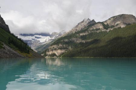 alberta: landscape of lake louise in Alberta Canada
