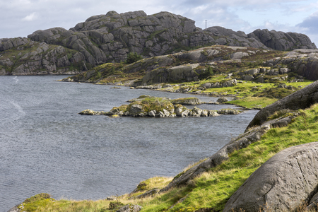 natures: overview Fyr in Egersund in Norway