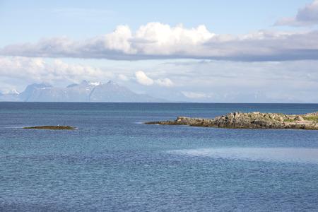 Overview at Andenes in Lofoten in Norway