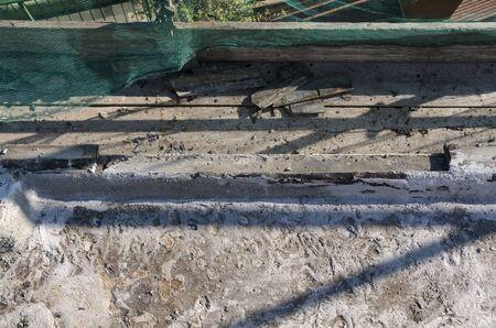 building work during the renovation Фото со стока