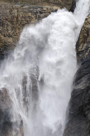 takakkaw falls in Yoho national park in Canada