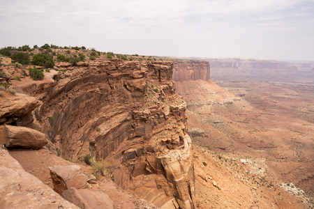 landscape in canyonlands National park in the united states of america
