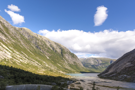 Nigardsbreen Glacier in Laerdal in Norway