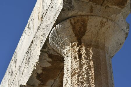 Aphaia temple in Aegina island in Greece
