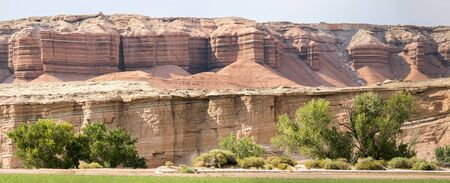 landscape in canyonlands National park in the united states of america Stock fotó