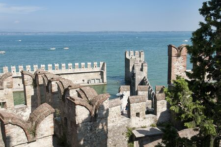 sirmione: Sirmione on Garda Lake Garda Italy landscape Stock Photo