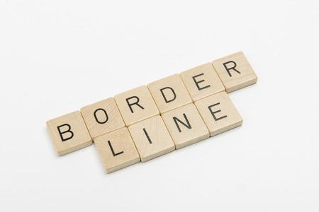 borderline: sentence borderline
