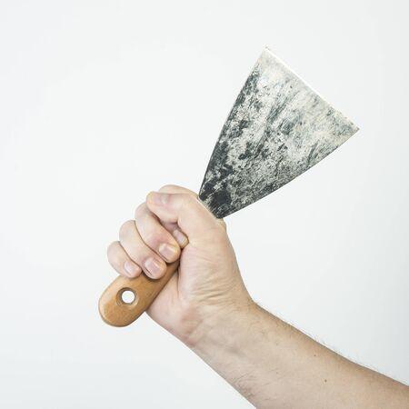 to scrape: spatula
