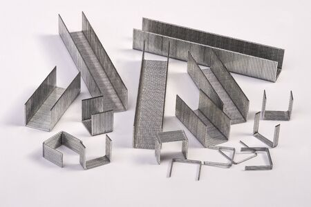 staplers: staples Stock Photo
