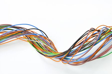 conductor electricity: bundle of electrical cables
