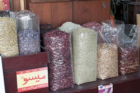 united arab emirates: Spice Market in Dubai, United Arab Emirates