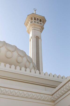 united arab emirates: minaret in Dubai, United Arab Emirates
