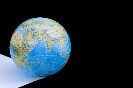poised: globe poised