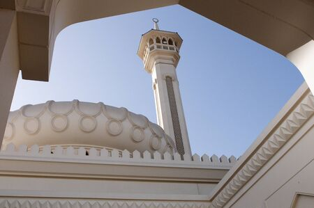 minaret: A minaret in Dubai Stock Photo