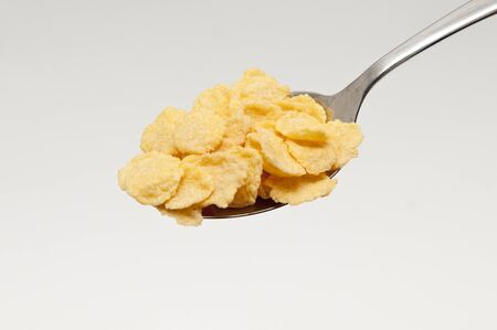 spoonful: spoonful of cornflakes