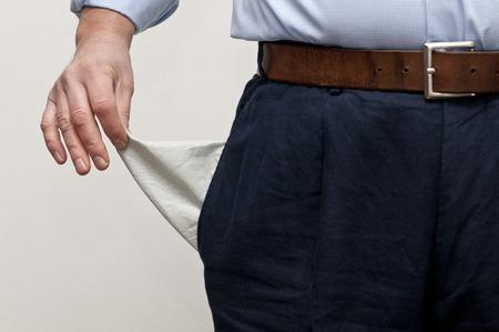 empty pocket: empty pocket