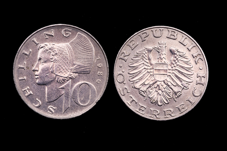lit collection: 10 old Italian lira currency