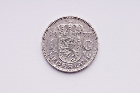 florin: old Dutch currency Stock Photo