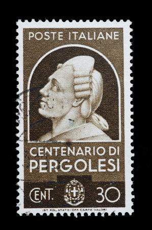 stamp: Italian stamp used