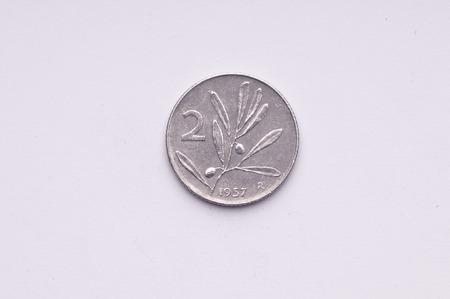 lira: old Italian lira currency by 2