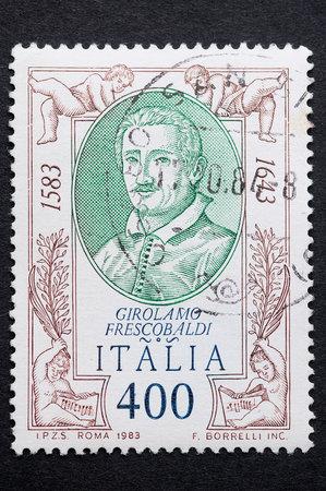 used stamp: Italian stamp used