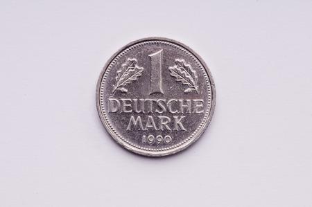 deutschemarks: Old German money 1 markka