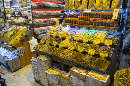 eminonu: the internal market of spices in Istanbul