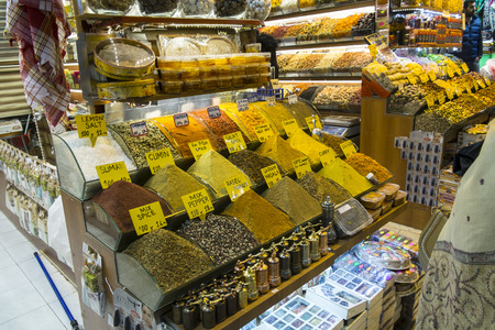 kapalicarsi: the internal market of spices in Istanbul