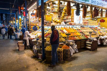 Inside the Grand Bazaar in Istanbul 에디토리얼