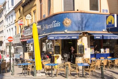 brasserie: A brasserie in Brussels downtown