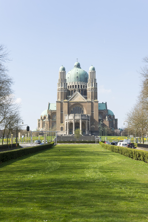 The Sacre Coeur church in Brussels