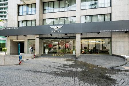 the headquarters of the Bentley car dealership in Kuala Lumpur, Maleria