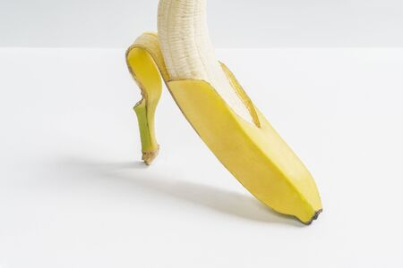 the concept of a yellow shoe