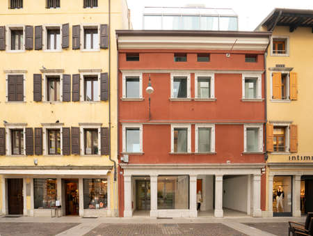 Udine, Italy. February 2 2021., Cavazzini House, seat of the Museum of modern and contemporary art of Udine