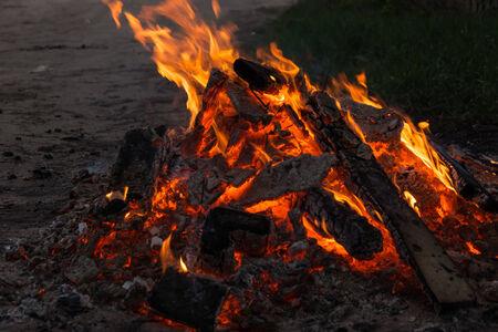 embers: Flame fire and embers
