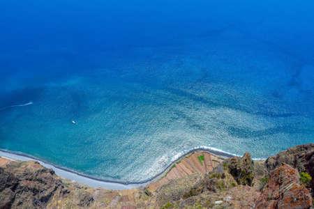 atlantic: Blue Atlantic ocean. Madeira Portugal Stock Photo
