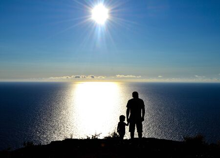 end of world: Time stop. The end of the world. Madeira Stock Photo