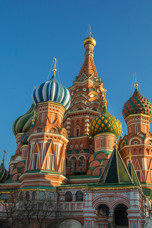 st basil s cathedral: St. Basil Cathedral on the Red Square Moscow.