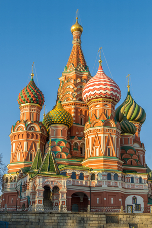 st  basil: St. Basil Cathedral on the Red Square Moscow.