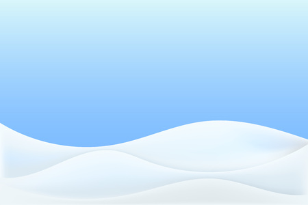 Realistic snowdrift isolated. Vector illustration with snow hills. Winter snowy landscape.