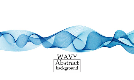 Flow-Formen-Design. Flüssiger Wellenhintergrund. Abstrakte 3D-Flow-Form.