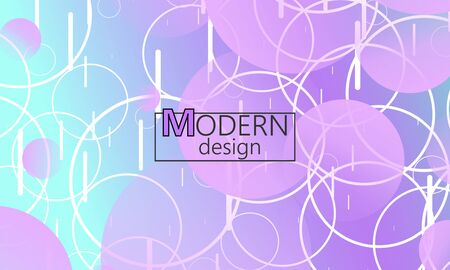 Design backgrounds element. Creative colorful wallpaper. Trendy gradient poster. Minimal abstract cover design. Vector illustration.