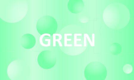 Green background. Abstract liquid pattern. Vector illustration. Fluid pink pattern. Stock Illustratie