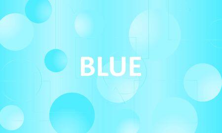 Blue background. Abstract liquid pattern. Vector illustration. Fluid pink pattern. Stock Illustratie