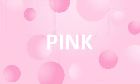 Pink background. Abstract liquid pattern. Vector illustration. Fluid pink pattern.