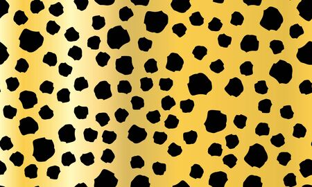 Leopard Print Seamless. Animal Skin Pattern. Leopard Texture. Panther Skin Background. Spotted Seamless Pattern. Vector.