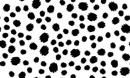 Leopard print. Animal skin pattern. Leopard texture. Panther skin background. Vector.