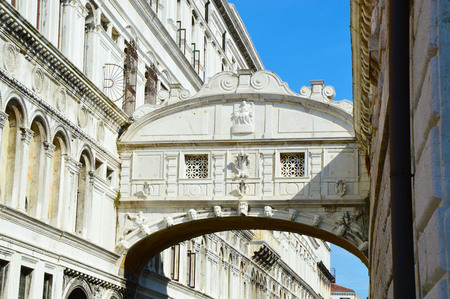 Venice, Bridge of Sighs, Ponte dei sospiri, Italy