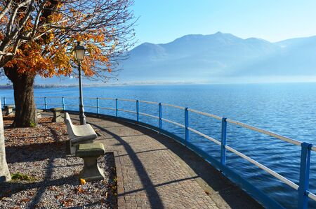 misterious: Beautiful Landscape, Lake Iseo, Lovere, Italy