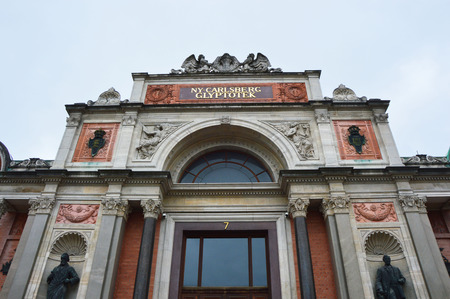 COPENHAGEN, DENMARK - MAY 31, 2017: Ny Carlsberg Glyptotek, an art museum in Copenhagen, Denmark